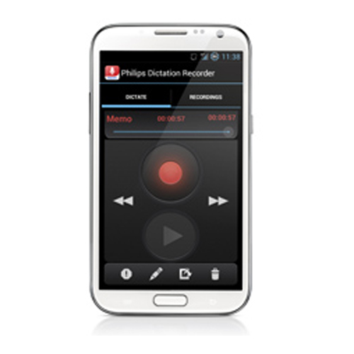 Philips Dictation Recorder App
